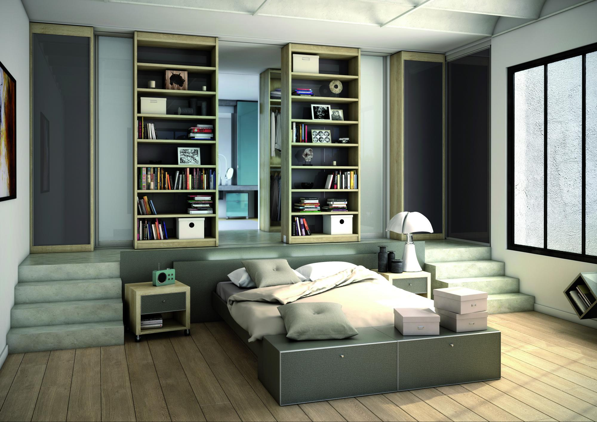 domelia rangements chambre. Black Bedroom Furniture Sets. Home Design Ideas